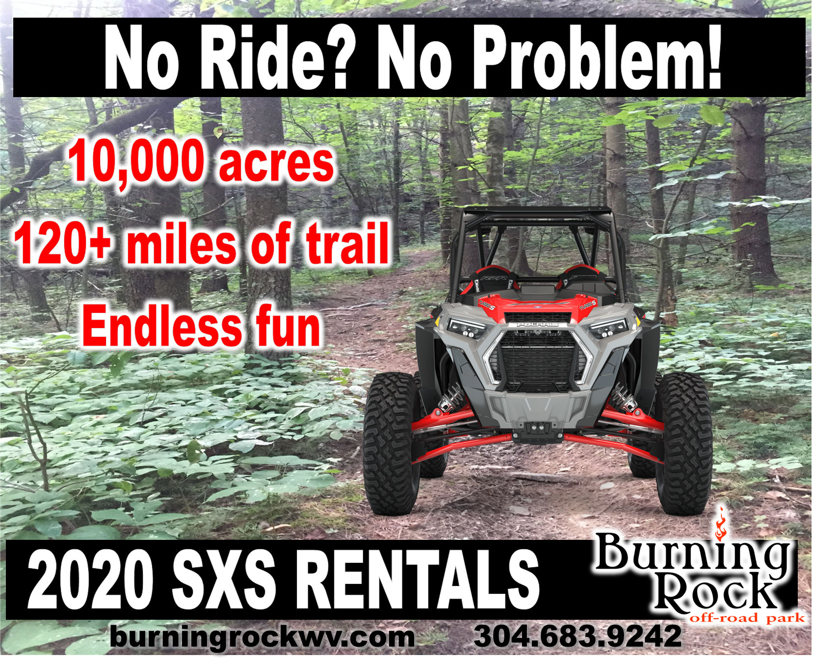 Rzr Rentals at Burning Rock